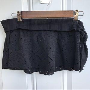 Zingara Swimwear Black Side Tie Swim Cover NWT